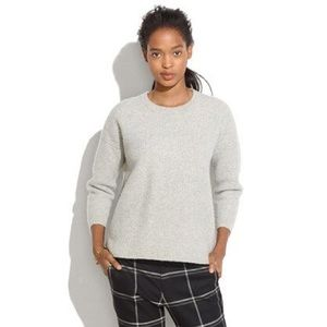 Madewell gray knit sweater Size XS